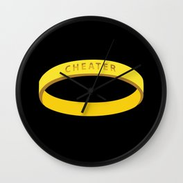 Cheater Wall Clock