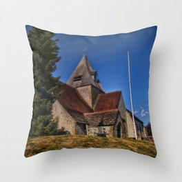 St Margaret Ditchling Throw Pillow
