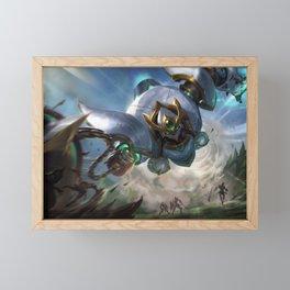 Lancer Paragon Blitzcrank League of Legends Framed Mini Art Print