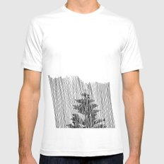 Cypress Mens Fitted Tee White MEDIUM