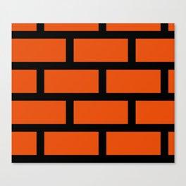 Brick Pattern Canvas Print