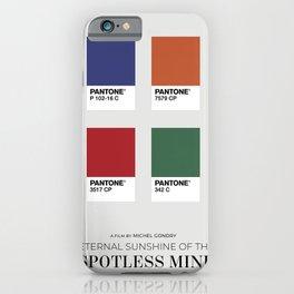 Eternal Sunshine of the Spotless Mind - Minimalist Poster iPhone Case