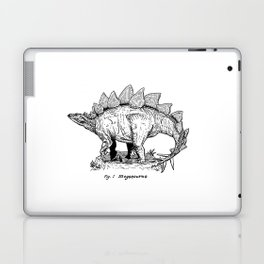 Figure One: Stegosaurus Laptop & iPad Skin