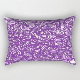 Seeing Purple Rectangular Pillow