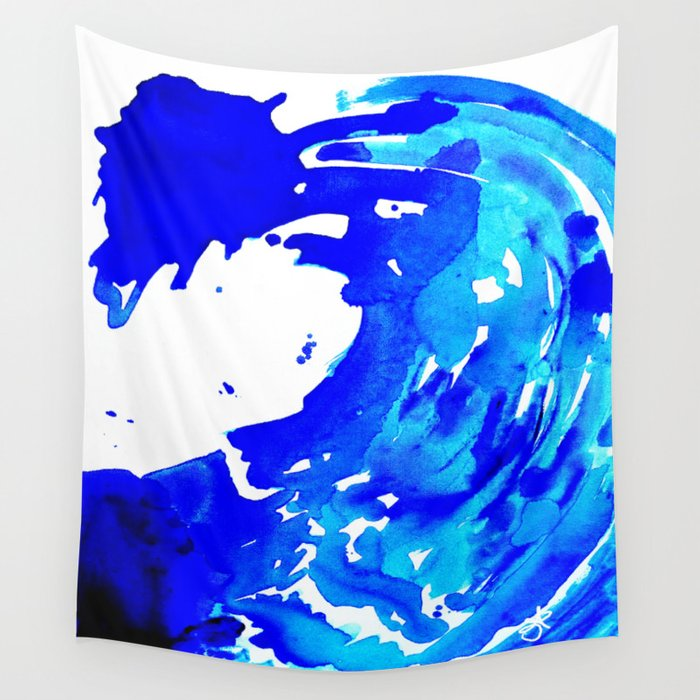 Save The Water Watercolour Wall Tapestry