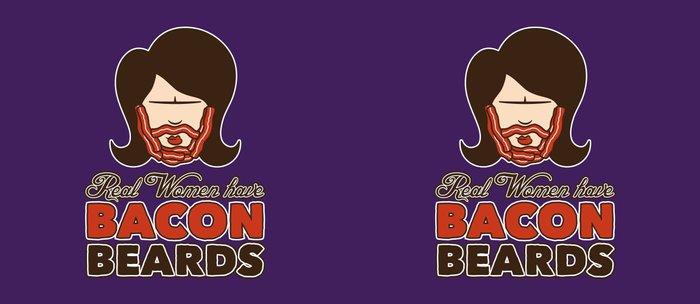Bacon Beard (women's version) Coffee Mug