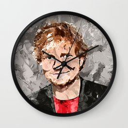 Painting Ed S Wall Clock