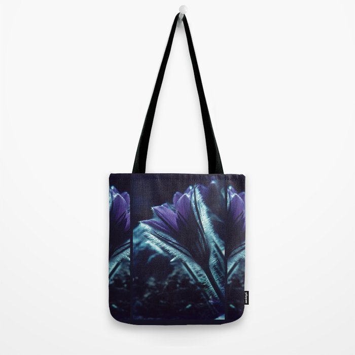 Flower in the Moonlight #2 #Purple Tote Bag