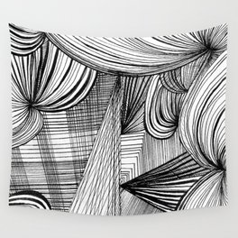 Overwhelmed Wall Tapestry