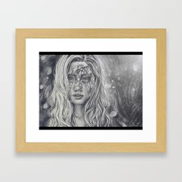Sun in your eyes Framed Art Print