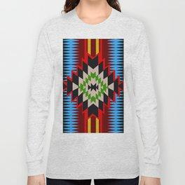 American Native Pattern No. 96 Long Sleeve T-shirt
