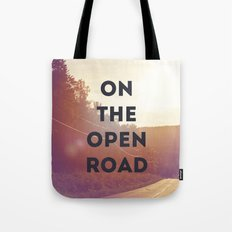 on the open road. Tote Bag