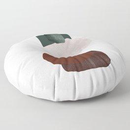 Green square Floor Pillow