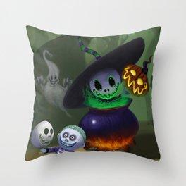 Skelton Throw Pillow