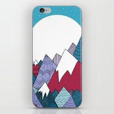 Blue Sky Mountains iPhone & iPod Skin