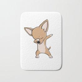Funny Dabbing Chihuahua Dog Dab Dance Bath Mat