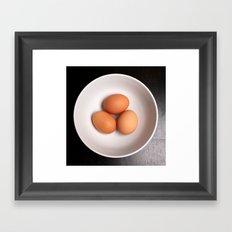 Eggs Framed Art Print