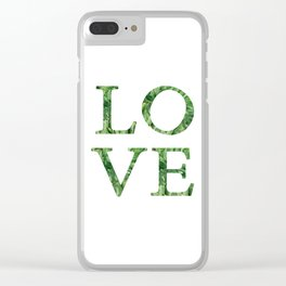 love quote. Clear iPhone Case