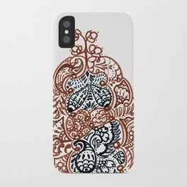 """23. Henna Letters of the Alphabet """" A """" iPhone Case"""