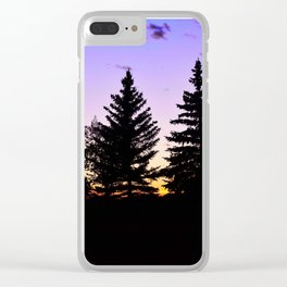 tree things for people who like trees Clear iPhone Case