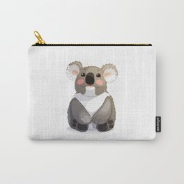 Lovely koala bear sitting and looking up. Carry-All Pouch