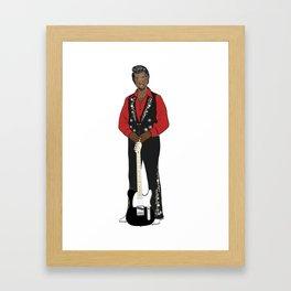 Kanway Tweezy Framed Art Print
