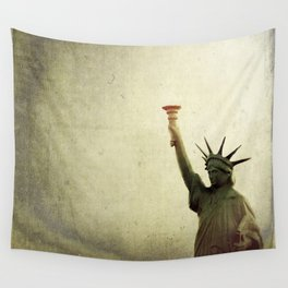 Understanding Liberty  Wall Tapestry