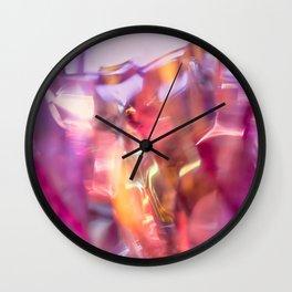 Pink Shine Wall Clock