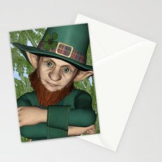 Leprechaun Stationery Cards