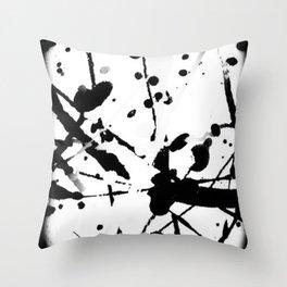 paint splatter 2 Throw Pillow
