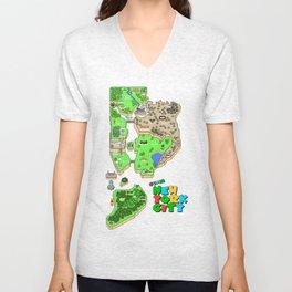 Super Mario NYC Unisex V-Neck