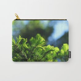 Pine branch background Carry-All Pouch