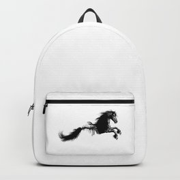 Fish bone horse - Mythological creature - Fantasy - Animal Backpack
