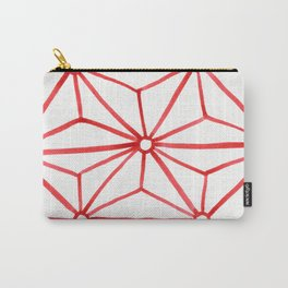 Red Star Watercolor Carry-All Pouch