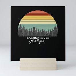 Salmon River New York Mini Art Print
