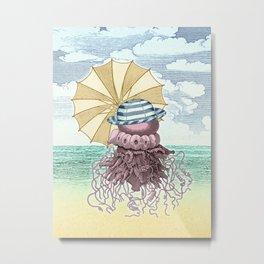 Summer Promenade Metal Print