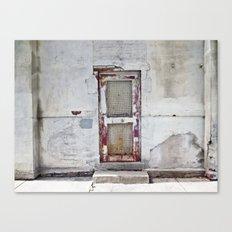 the door Canvas Print