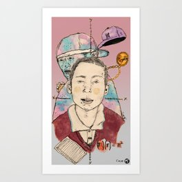 Esteban Art Print