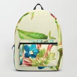 Columbine Flowers Backpack