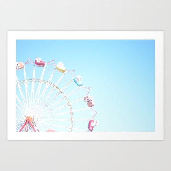 Fryeburg Fair Ferris Wheel by victoriasager