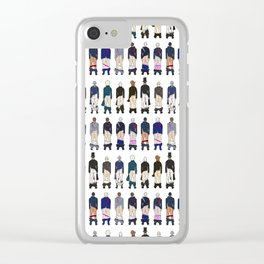 President Butts LV Clear iPhone Case