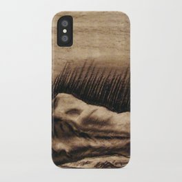 Portrait Of A Back iPhone Case