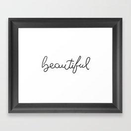 Beauiful Framed Art Print