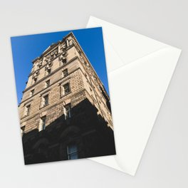 Edinburgh Old Town Building - Architectural Photography Stationery Cards