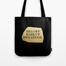 Bra Off Tote Bag