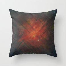 By the Campfire Throw Pillow