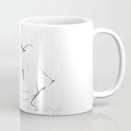 Ballet Dance Drawing Coffee Mug