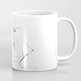 Ballet Dance Drawing Coffee Mug