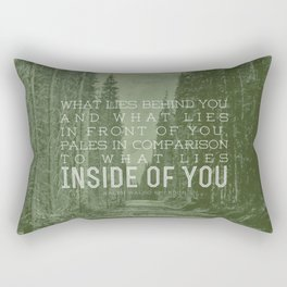 Inside of You Rectangular Pillow