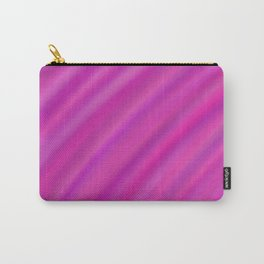 Pink and Purple Blur Carry-All Pouch
